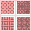 Seamless blue patterns Royalty Free Stock Photos