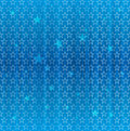 Seamless Blue Star Pattern Royalty Free Stock Photography