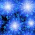 Seamless Blue Whirl Pattern Royalty Free Stock Photo