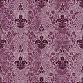 Seamless bordeaux damask pattern Stock Images
