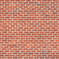 Seamless brick wall a texture of brown bricks Stock Image