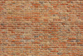 Seamless brick wall texture old red Stock Photography