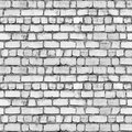Seamless brickwall tiled grey texture Stock Photography