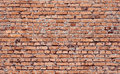 Seamless brickwall tiled red texture Royalty Free Stock Images