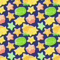 Seamless bright color carambola