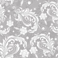 Seamless bright floral pattern vintage Royalty Free Stock Image