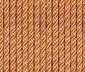 Seamless bright gold glamour ropes background pattern texture Royalty Free Stock Photos