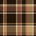 Seamless brown abstract pattern Royalty Free Stock Photography