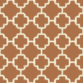 Seamless brown islamic mesh background Royalty Free Stock Photo