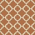 Seamless brown islamic mesh background Royalty Free Stock Photo