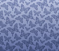 Seamless butterfly pattern Stock Image