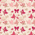 Seamless butterfly pattern Royalty Free Stock Photography