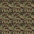 Seamless Camouflage pattern background