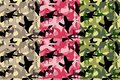 Seamless Camouflage pattern vector, texture military camouflage repeats seamless army hunting