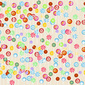 Seamless candy background Royalty Free Stock Photography