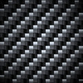 Seamless carbon texture. Royalty Free Stock Photography