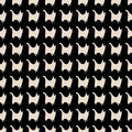 Seamless Cat Silhouettes Pattern