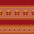 Seamless celebration pattern Royalty Free Stock Photo