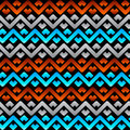 Seamless celtic linen pattern Royalty Free Stock Image