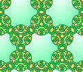 Seamless celtic style knot pattern graphic illustration of Royalty Free Stock Image