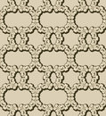 Seamless chain pattern Stock Photography