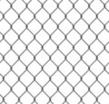 Seamless chainlink fence Royalty Free Stock Photography