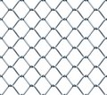 Seamless Chainlink Fence Royalty Free Stock Photo