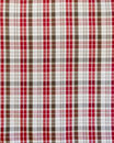 Seamless check fabric pattern Stock Photos