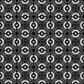 Seamless checked crisscross pattern. Royalty Free Stock Photo