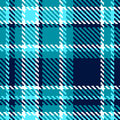 Seamless checkered blue white vector pattern Royalty Free Stock Images