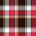Seamless checkered pattern Stock Photography