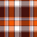 Seamless checkered pattern Royalty Free Stock Photos