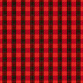 Seamless checkered pattern vector red with dark and bright lines Royalty Free Stock Photos