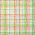 Seamless checkered pattern on white