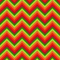 Seamless chevron background pattern in bright colors Stock Photos