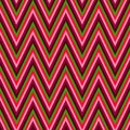 Seamless chevron background pattern in pink and green Stock Photos