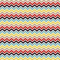 Seamless chevron pattern geometric abstract background vector illustration Stock Photography