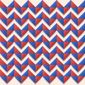 Seamless chevron usa color style fashion paper art background