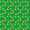 Seamless christma pattern Royalty Free Stock Photo