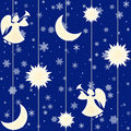 Seamless Christmas background Royalty Free Stock Photo