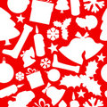 Seamless  christmas pattern Royalty Free Stock Photos