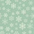 Seamless christmas snowflake background Royalty Free Stock Photo