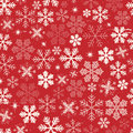 Seamless Christmas Snowflakes Background Royalty Free Stock Photo