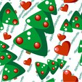 Seamless christmas tree grunge texture Royalty Free Stock Image