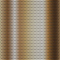 Seamless chrome metal surface, background Stock Photo
