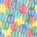 Seamless circle pattern Royalty Free Stock Images