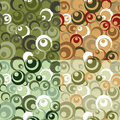 Seamless circle pattern Stock Image