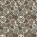 Seamless circle pattern Stock Images