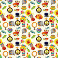 Seamless circus pattern Royalty Free Stock Image
