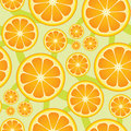 Seamless Citrus Pattern Royalty Free Stock Photography
